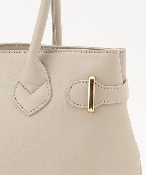 any SiS / エニィスィス トートバッグ | 【A4サイズ収納可】サイドベルト トートバッグ | 詳細8