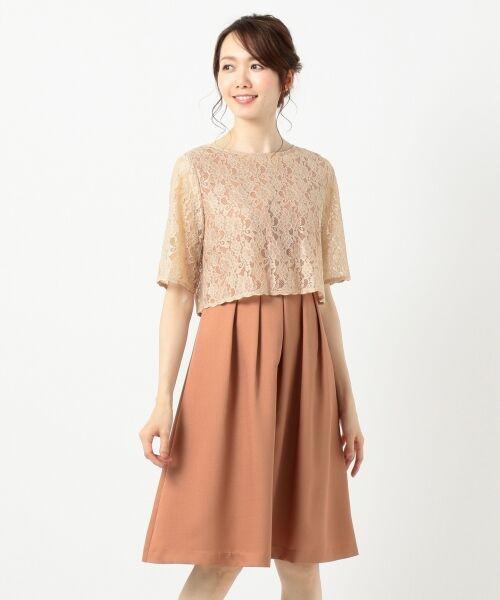 any SiS / エニィスィス ドレス | 【3WAY】レースボレロ ドレス | 詳細4