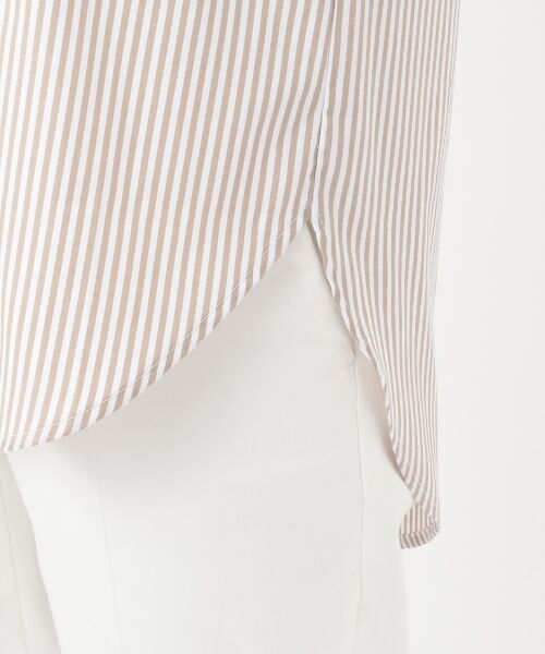 any SiS / エニィスィス トップス   【皺になりにくい】ストライプロング シャツ   詳細9