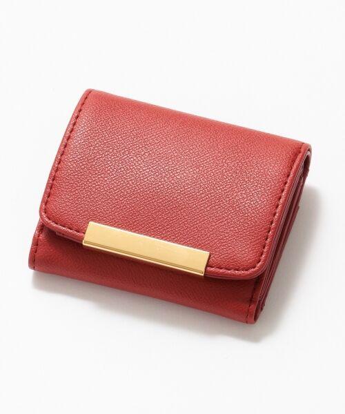 any SiS / エニィスィス 財布・コインケース・マネークリップ | メタルポイントミニ ウォレット(財布)(レッド系)