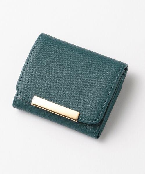 any SiS / エニィスィス 財布・コインケース・マネークリップ | メタルポイントミニ ウォレット(財布)(ダークグリーン系)