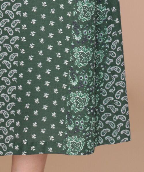 any SiS / エニィスィス ミニ・ひざ丈スカート | 【洗える】パネルプリントロング スカート | 詳細11