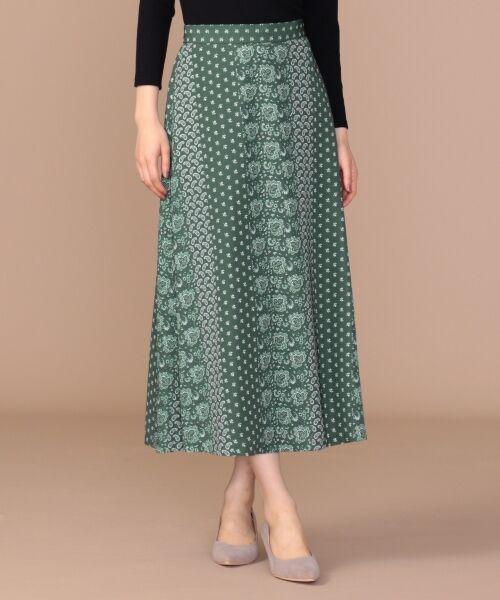any SiS / エニィスィス ミニ・ひざ丈スカート | 【洗える】パネルプリントロング スカート | 詳細4