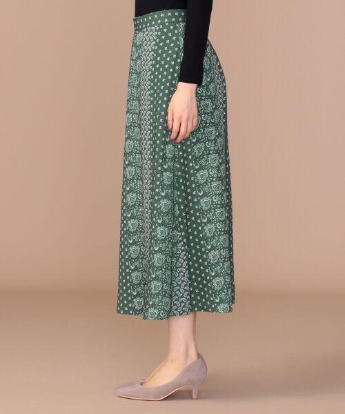 any SiS / エニィスィス ミニ・ひざ丈スカート | 【洗える】パネルプリントロング スカート | 詳細5