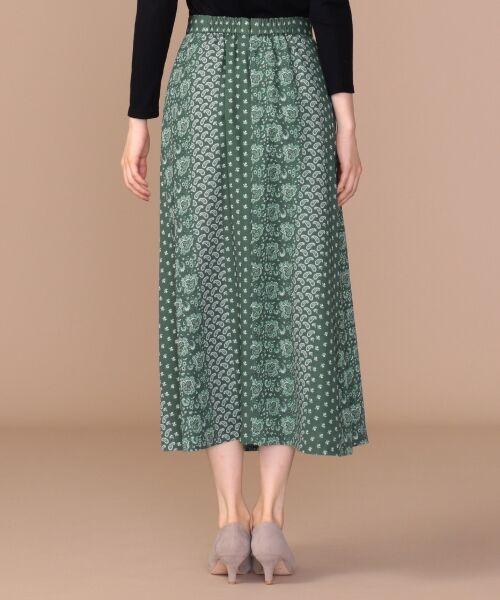 any SiS / エニィスィス ミニ・ひざ丈スカート | 【洗える】パネルプリントロング スカート | 詳細6