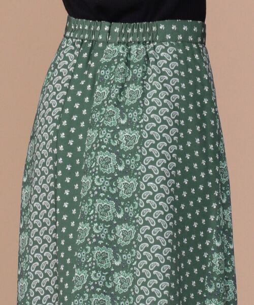 any SiS / エニィスィス ミニ・ひざ丈スカート | 【洗える】パネルプリントロング スカート | 詳細7