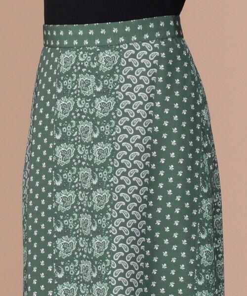 any SiS / エニィスィス ミニ・ひざ丈スカート | 【洗える】パネルプリントロング スカート | 詳細8