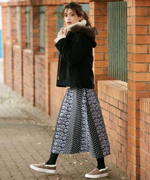 any SiS / エニィスィス ミニ・ひざ丈スカート | 【洗える】パネルプリントロング スカート | 詳細13