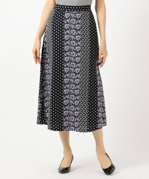 any SiS / エニィスィス ミニ・ひざ丈スカート | 【洗える】パネルプリントロング スカート | 詳細14