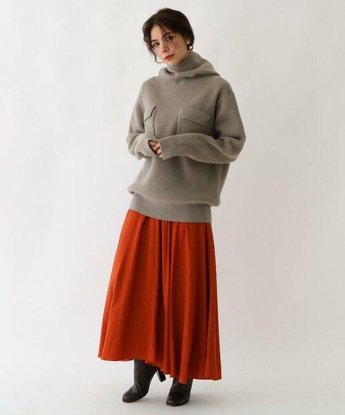 aquagirl / アクアガール ロング・マキシ丈スカート | スプリットフローレットスカート | 詳細4