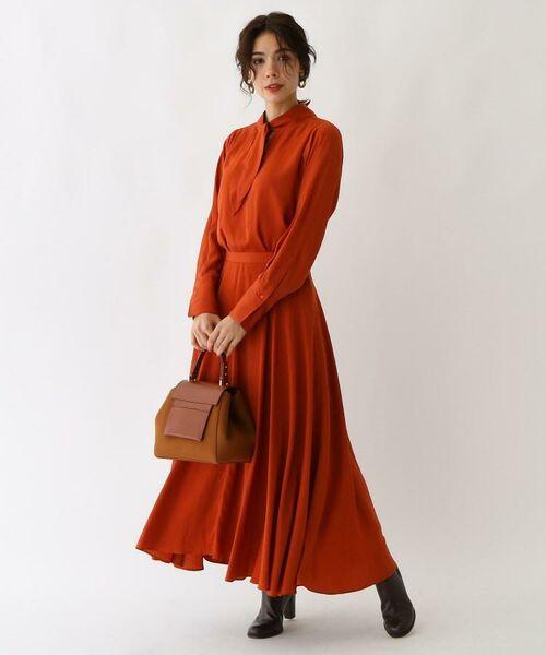 aquagirl / アクアガール ロング・マキシ丈スカート | スプリットフローレットスカート | 詳細5