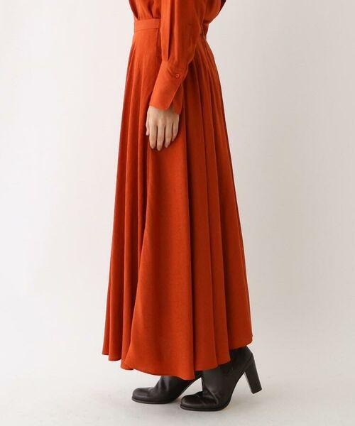 aquagirl / アクアガール ロング・マキシ丈スカート | スプリットフローレットスカート | 詳細7