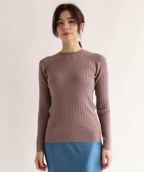 aquagirl / アクアガール ニット・セーター | レーヨン混ラグランスリーブリブニット | 詳細6
