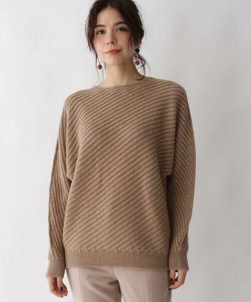 aquagirl / アクアガール ニット・セーター | カシミヤ混ドルマンバイヤスリブニット | 詳細12