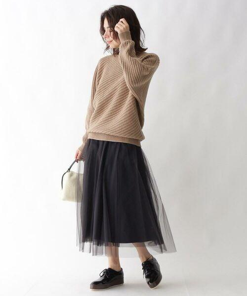 aquagirl / アクアガール ニット・セーター | カシミヤ混ドルマンバイヤスリブニット | 詳細13