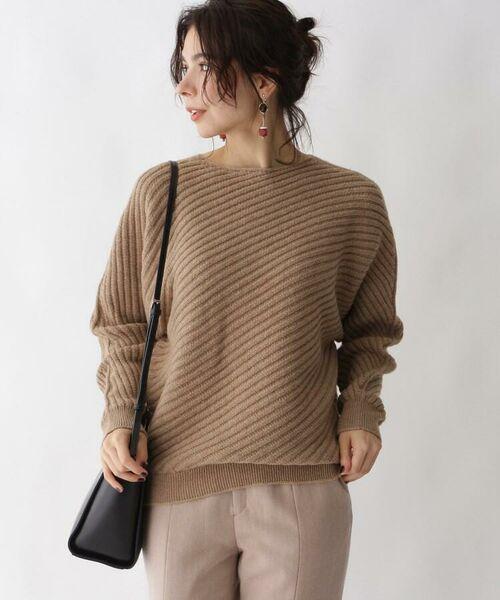 aquagirl / アクアガール ニット・セーター | カシミヤ混ドルマンバイヤスリブニット | 詳細6