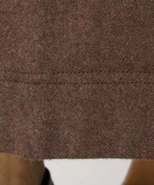 aquagirl / アクアガール ロング・マキシ丈スカート   ウール混ボタンAラインスカート   詳細13
