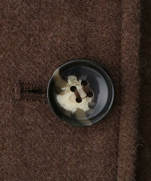 aquagirl / アクアガール ロング・マキシ丈スカート   ウール混ボタンAラインスカート   詳細14