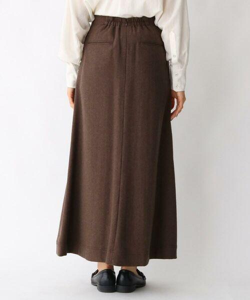 aquagirl / アクアガール ロング・マキシ丈スカート   ウール混ボタンAラインスカート   詳細9