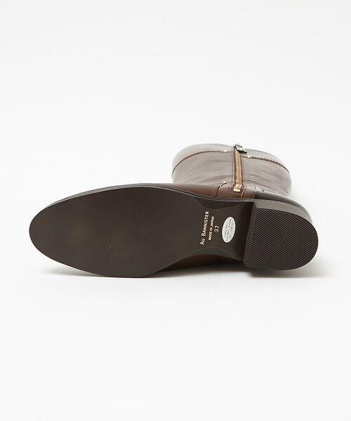 Au BANNISTER / オゥ バニスター ブーツ(ショート丈) | サイドジップロングブーツ | 詳細13