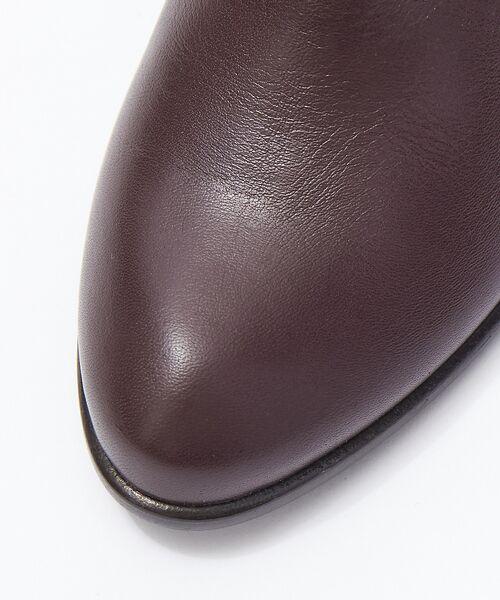Au BANNISTER / オゥ バニスター ブーツ(ショート丈) | 【スノーソール使用】サイドゴアブーツ【予約】 | 詳細16