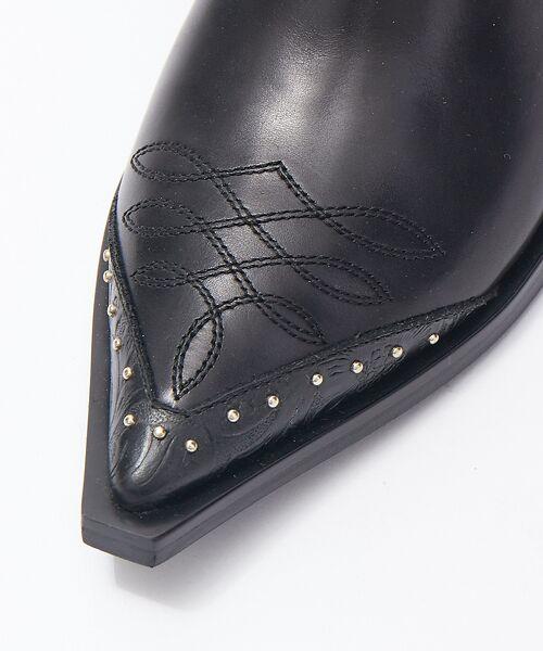 Au BANNISTER / オゥ バニスター ブーツ(ショート丈) | thyme/ウエスタンステッチショートブーツ【予約】 | 詳細8