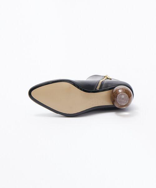 Au BANNISTER / オゥ バニスター ブーツ(ショート丈) | thyme/ボールヒールショートブーツ【予約】 | 詳細6