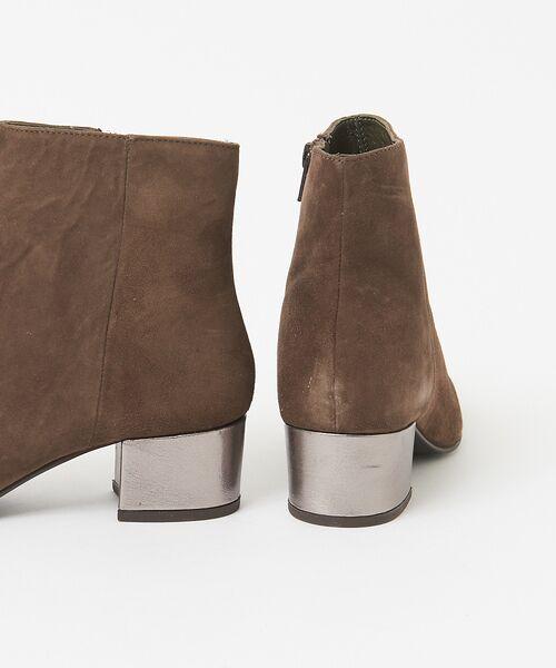 Au BANNISTER / オゥ バニスター ブーツ(ショート丈) | 【販売店舗限定】デザインヒール ショートブーツ | 詳細10