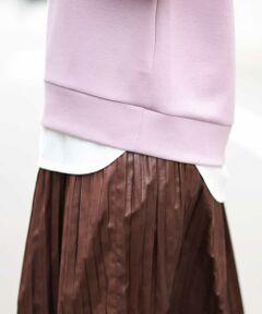◆秋の先行販売アイテム◆<br><br>1枚でもレイヤードでも着まわし抜群カットソー。<br>ヒップが隠れる長めの着丈。<br>ニットやスウェットとのレイヤードが旬なスタイリング。<br>ロングシーズン着まわせる万能アイテム。<br>華奢な衿巾ときれいめな素材にこだわりました。<br>定番のボーダーとホワイトとトレンドカラーのソフトカーキの3色展開です。<br>同シルエットロゴTシャツ:K2KJJ11029<br><br>こちらの商品は抗菌/防臭アイテムです。<br> ・繊維上の細菌の増殖を抑制します。<br> ・菌を原因とする臭いの発生を抑えます。<br> ・ご家庭で洗濯をしても効果が持続する<br>  高い洗濯耐久性加工をしています。