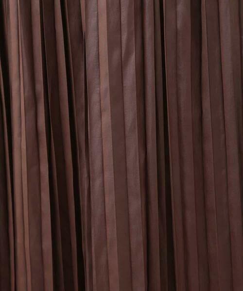 a.v.v / アー・ヴェ・ヴェ ロング・マキシ丈スカート | 【BARFOUT!11月号掲載 新川優愛さん着用商品】チンツサテンプリーツスカート[WEB限定サイズ] | 詳細13