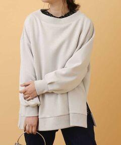 ◆今年マスト!人気急上昇中のダンボール素材プルオーバー◆<br><br>ゆったりシルエットが着心地も良く、今の気分にピッタリなプルオーバー。<br>ボリューミーな袖やルーズ感のあるシルエットにボートネックで女性らしさをプラス。<br>1枚で着ても着映えするシルエットですが、今年らしさをプラスするなら、インナーを合わせてレイヤードスタイルがおすすめ!<br>カジュアルなアイテムでも落ち感あるダンボール素材で上品さもキープできるのも大人の女性にはうれしいポイント!<br>今年大注目なダンボール素材は一度着るとやみつきになるはず!ぜひ一度お試しください。
