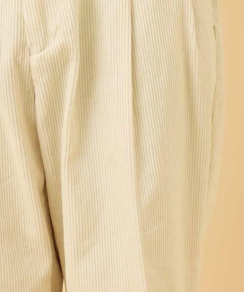 a.v.v / アー・ヴェ・ヴェ その他パンツ   【セットアップ対応/洗濯機で洗える】コーデュロイワイドテーパードパンツ   詳細24