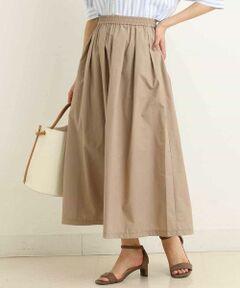 ◆カジュアルからきれいめまで大人可愛くスカートスタイルを楽しめる1着◆<br><br>程よくハリのある素材で仕上げたスカートは、<br>ボリュームあるシルエットがトレンド感あふれる1枚。<br>ウエストはラフな履き心地のゴム仕様で着心地◎<br>トレンドカラーのイエローとモノトーンのギンガムチェックが新鮮で<br>各色欲しくなるアイテム。<br>カジュアルにTシャツやスニーカー合わせもでき、<br>ブラウスをインしたお上品コーデまで<br>幅広いジャンルに活躍する優秀スカートです!<br>