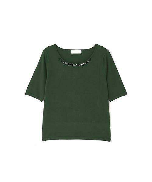 Aylesbury / アリスバーリー ニット・セーター | ◆ビジューパールツインニット | 詳細23