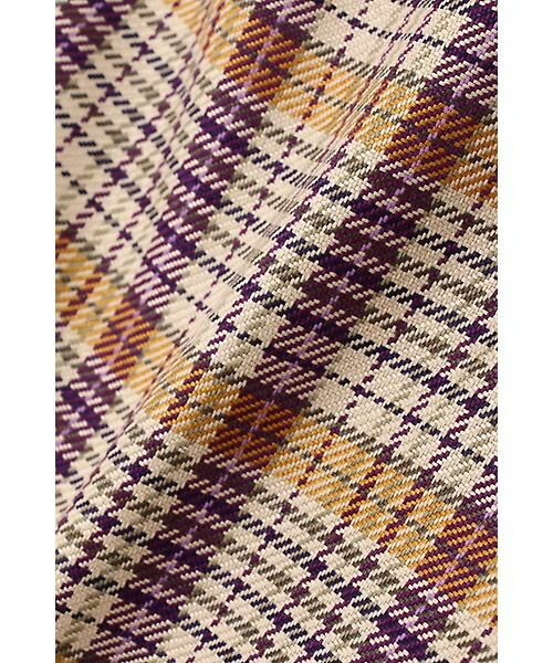 Aylesbury / アリスバーリー スカート   ◆ラップ風カラーチェックスカート   詳細9