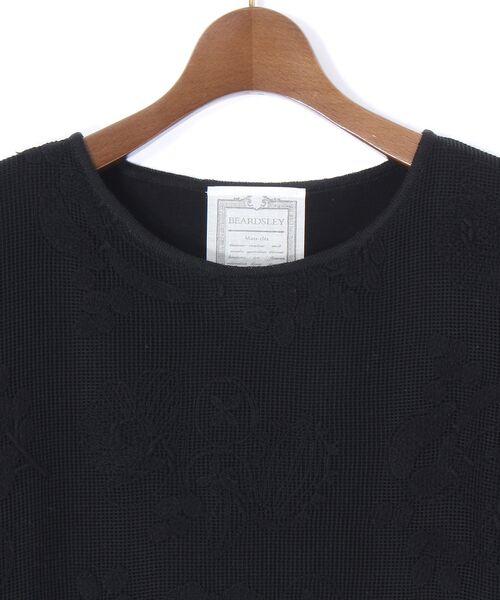 BEARDSLEY / ビアズリー ニット・セーター | 敦賀刺繍コンビフレンチニット | 詳細2
