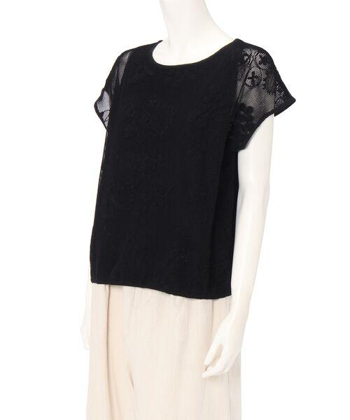 BEARDSLEY / ビアズリー ニット・セーター | 敦賀刺繍コンビフレンチニット | 詳細6
