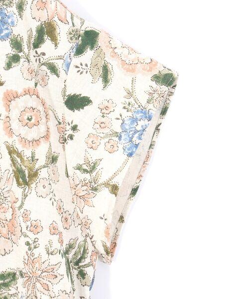 BEARDSLEY / ビアズリー シャツ・ブラウス | 花プリントブラウス | 詳細5