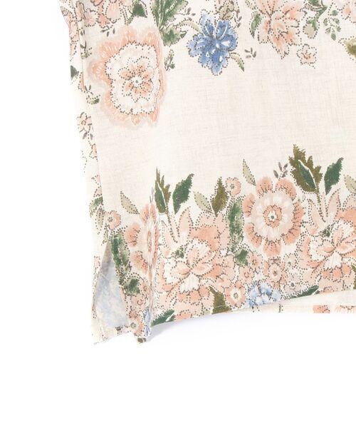 BEARDSLEY / ビアズリー シャツ・ブラウス | 花プリントブラウス | 詳細6