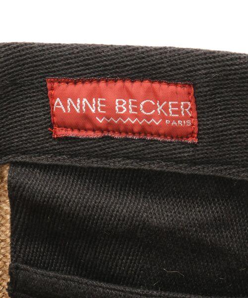 BEARDSLEY / ビアズリー トートバッグ | 《ANNNE BECKER / アンヌベッカー》大トートバッグ | 詳細7