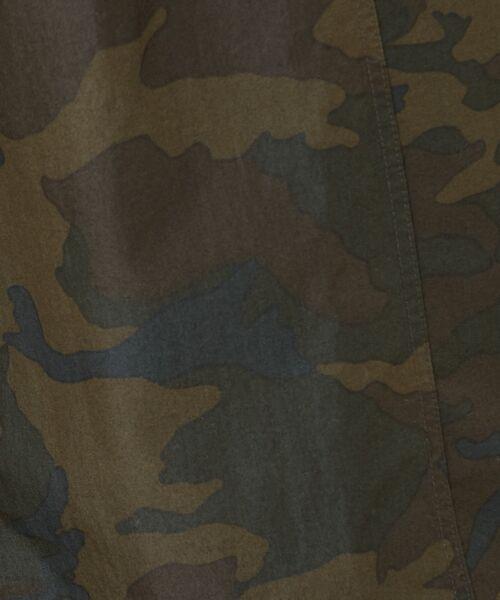 BEARDSLEY / ビアズリー ロング・マキシ丈スカート | 再入荷!迷彩ギャザータックスカート | 詳細10