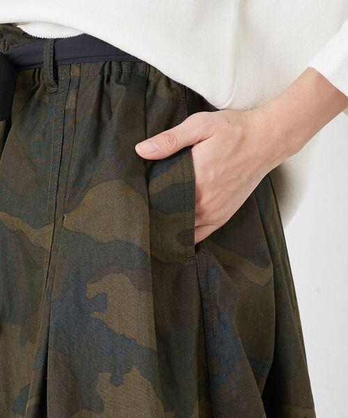 BEARDSLEY / ビアズリー ロング・マキシ丈スカート | 再入荷!迷彩ギャザータックスカート | 詳細8