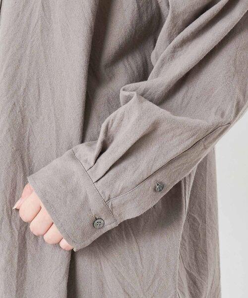 BEARDSLEY / ビアズリー シャツ・ブラウス | コットンウールBIGシャツ | 詳細16