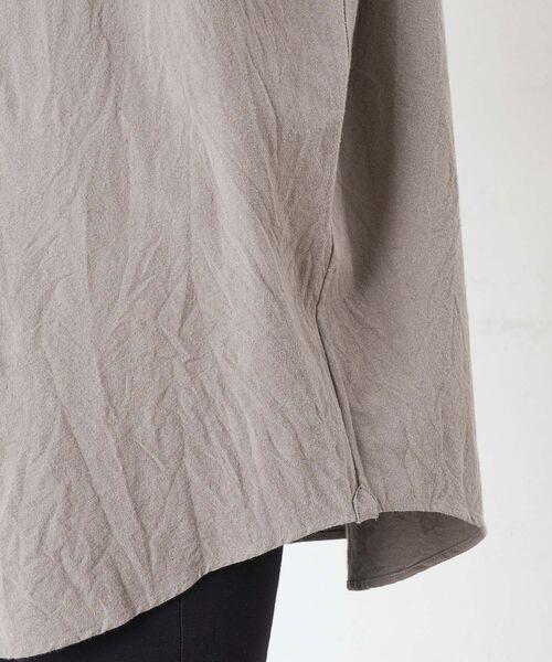 BEARDSLEY / ビアズリー シャツ・ブラウス | コットンウールBIGシャツ | 詳細17