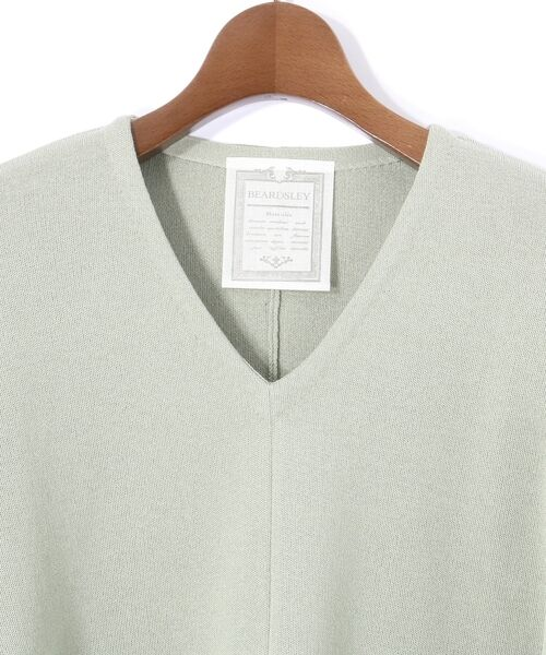BEARDSLEY / ビアズリー ニット・セーター | Vシンプルプルオーバーニット | 詳細3