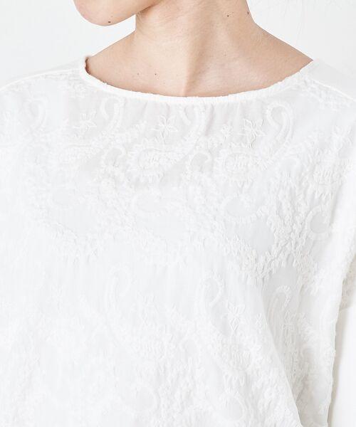 BEARDSLEY / ビアズリー カットソー | フロント刺繍カットソー | 詳細9