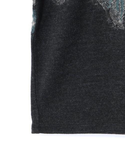 BEARDSLEY / ビアズリー カットソー | 花ジャガードプルオーバーカットソー | 詳細9