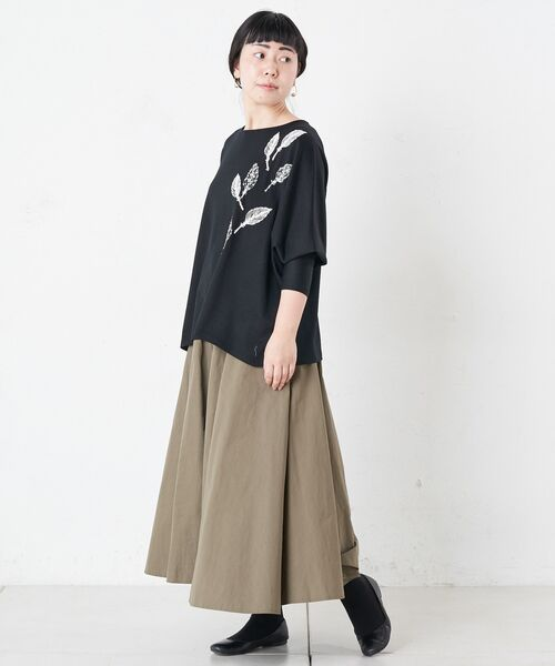 BEARDSLEY / ビアズリー カットソー   モヘア刺繍プルオーバーカットソー   詳細2