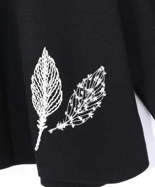 BEARDSLEY / ビアズリー カットソー | モヘア刺繍プルオーバーカットソー | 詳細8
