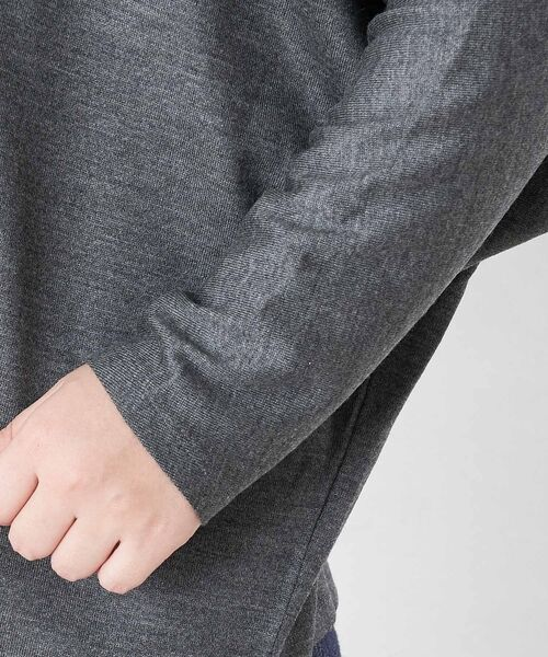 BEARDSLEY / ビアズリー カットソー | モヘア刺繍プルオーバーカットソー | 詳細19